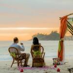 9-Seychellen-Strandhochzeit-Sonneuntergang