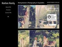 Vorschau Webseite Rodion Hardy